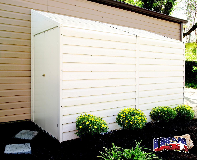 000274d26e079 LANIT PLAST kovový záhradný domček ARROW YARDSAVER 410
